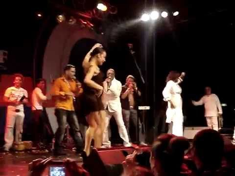 Kirenia Cantin solo dance (La Charanga Habanera Concert), part 1/2