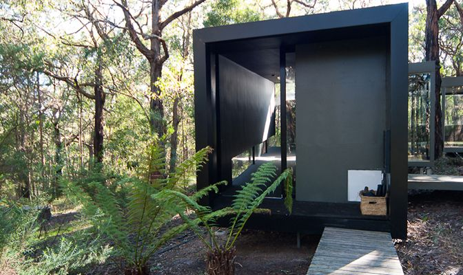 Small modern vacation homes