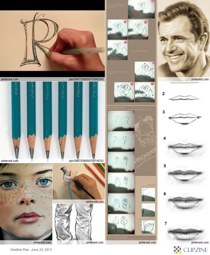 DIY Drawing Tutorials  I'll have to check this out for my students.
