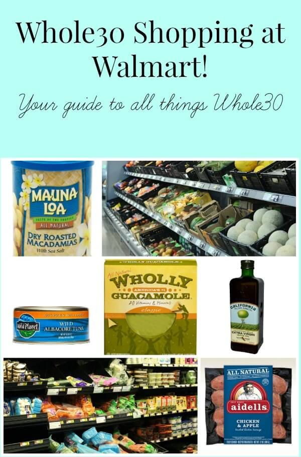 It's possible to do your Whole30 shopping at Walmart! Here's my helpful list of what you can buy at this major retailer, and I've included prices for many items!