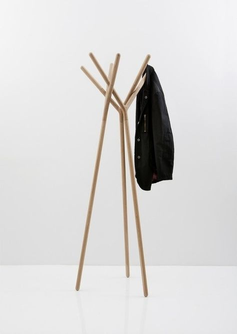 Ideen Für Kleiderständer Praktisch Schön Schlicht Holz