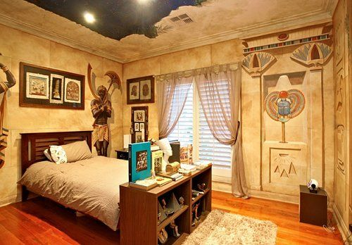 Decorating theme bedrooms - Maries Manor: Egyptian theme bedroom decorating ideas