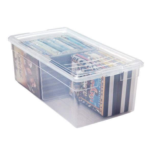Our Media Box is a versatile, flexible solution for storing CDs, DVDs, VHS tapes and photos.