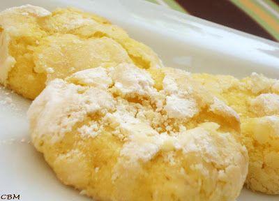 Dans la cuisine de Blanc-manger: Biscuits craquelés au citron et à la noix de coco