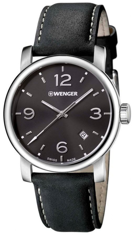Wenger Watch Urban Metropolitan #add-content #bezel-fixed #bracelet-strap-leather #brand-wenger #case-depth-10-2mm #case-material-steel #case-width-41mm #classic #date-yes #delivery-timescale-4-7-days #dial-colour-black #gender-mens #movement-quartz-battery #official-stockist-for-wenger-watches #packaging-wenger-watch-packaging #style-dress #subcat-urban #supplier-model-no-01-1041-127 #warranty-wenger-official-3-year-guarantee #water-resistant-100m