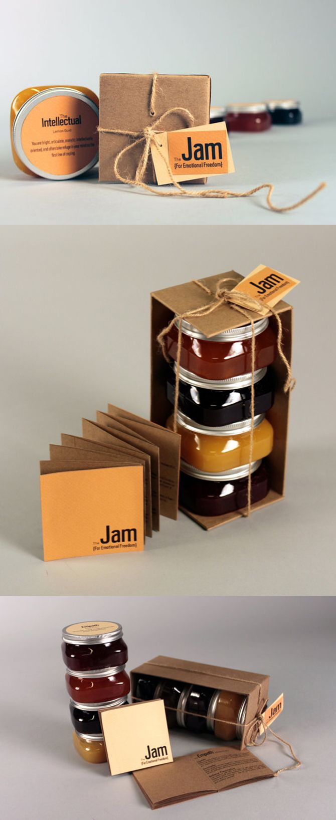 Through the years as packaging design has evolved it has kept the essence of the jam bottle and has also given new directions of creativity and innovation.