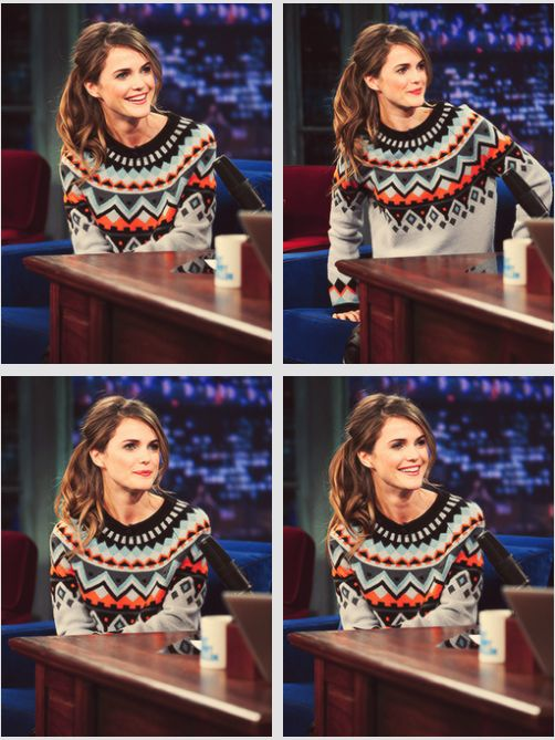 well that's just the cutest--Keri Russell
