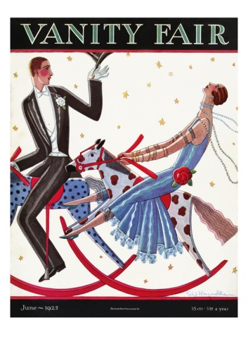 Vanity Fair Cover - June 1925 by Stanley W. Reynolds