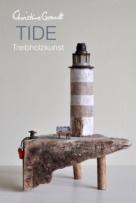 © Christine Grandt – Treibholzkunst: maritime Geschenke, Miniaturen und Skulpturen …