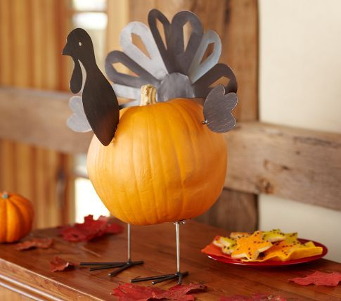 93 best images about holiday thanksgiving on pinterest for Homemade thanksgiving decorations for the home