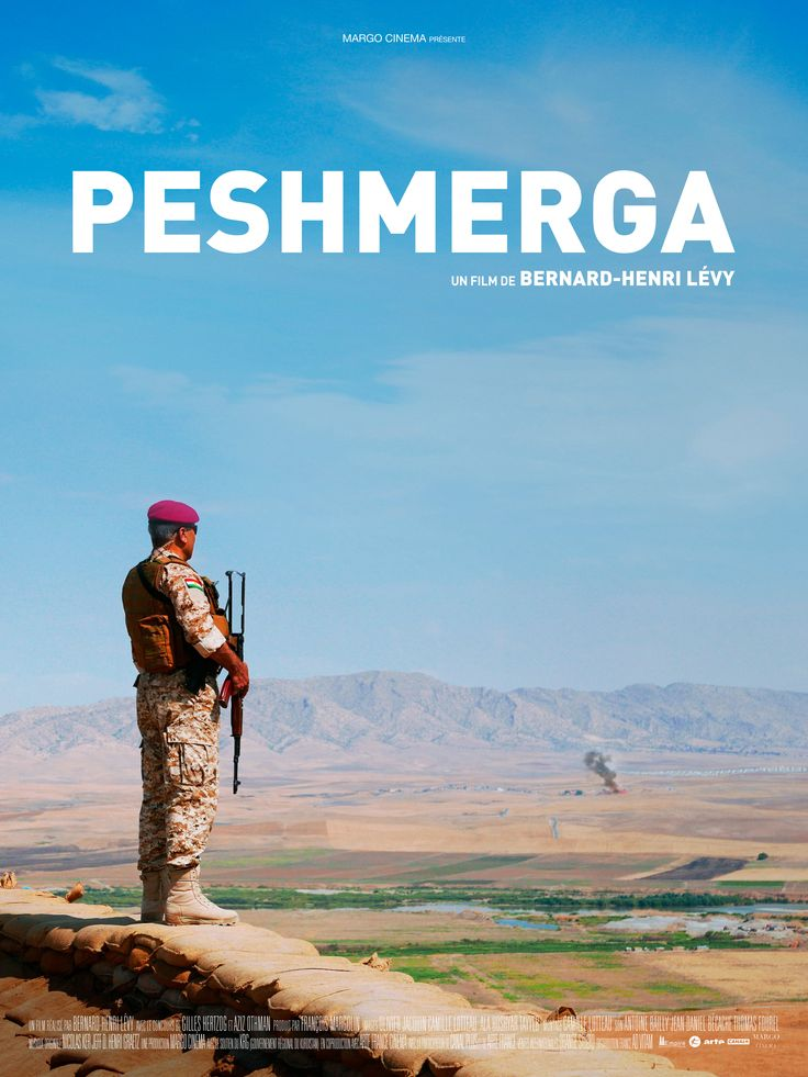 Peshmerga by Bernard-Henri Lévy. #Cannes2016 Special Screenings.  Poster.