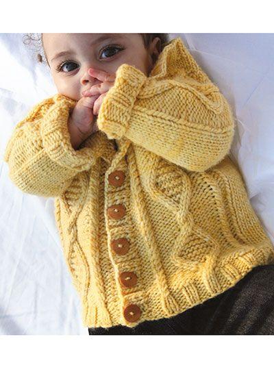 Knitting - Sterling Cable Cardigan - #REK0817