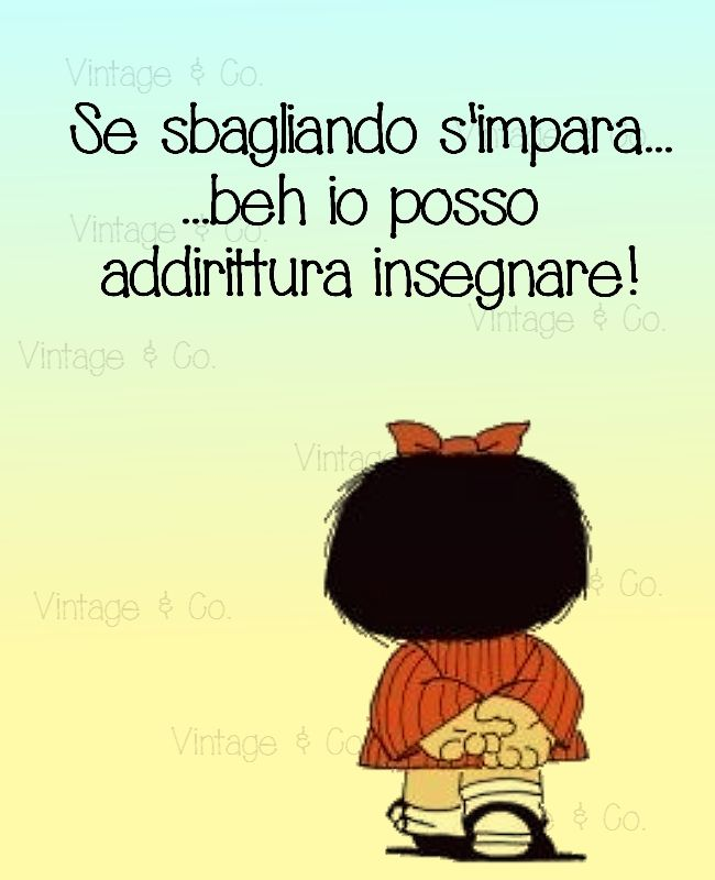 Mafalda, a nice girl with a ironic soul. #mafalda #quote #lifequote  Follow Vintage & Co. https://www.facebook.com/VintageeCo