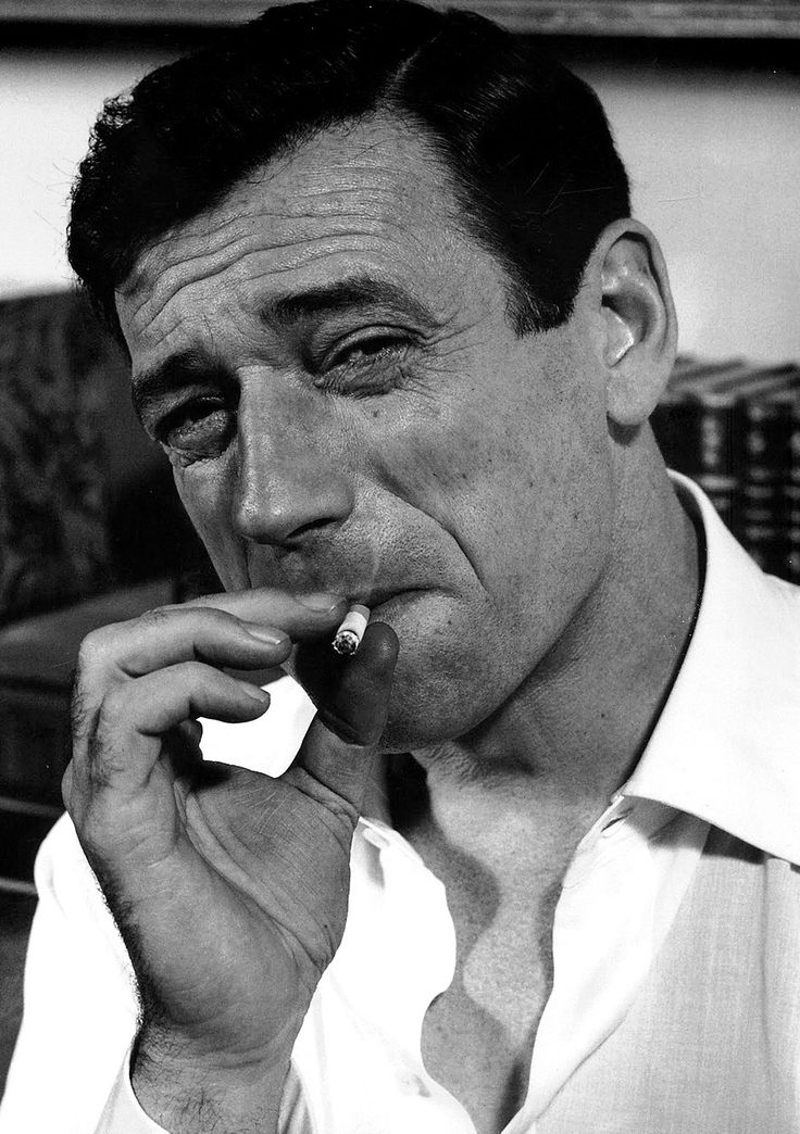 Yves Montand by Philippe Halsman