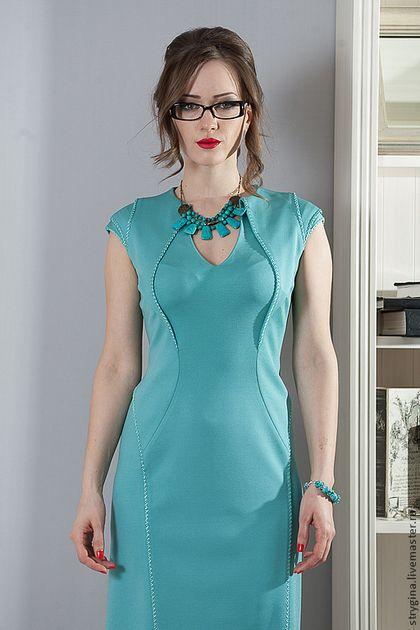 Платья ручной работы. Платье Fiore di perle. Strygina. Ярмарка Мастеров. Офисная мода, стрыгина, итальянский стиль