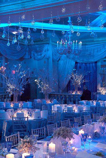 Winter Wedding Reception - Beautiful!