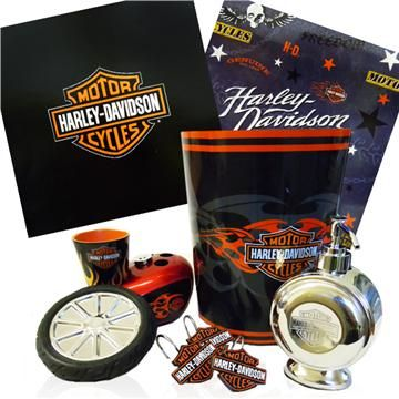 Smart Shoppers Go To The Domestic Bin First For Harley Davidson Shower  Curtains, Rugs U0026 Bath Accessories