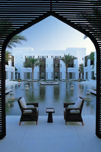 Chedi resort, Muscat, Oman
