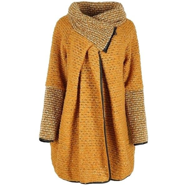 Pre-owned Nice Soft Stylish - Woolen Pea Coat (3.219.330 IDR) ❤ liked on Polyvore featuring outerwear, coats, woolen coat, brown pea coat, brown wool coat, peacoat coat and pea jacket
