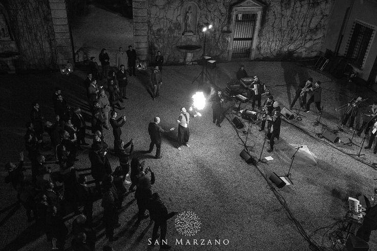 Apulian Apertif with Opa Cupa band at Giardino Giusti in Verona