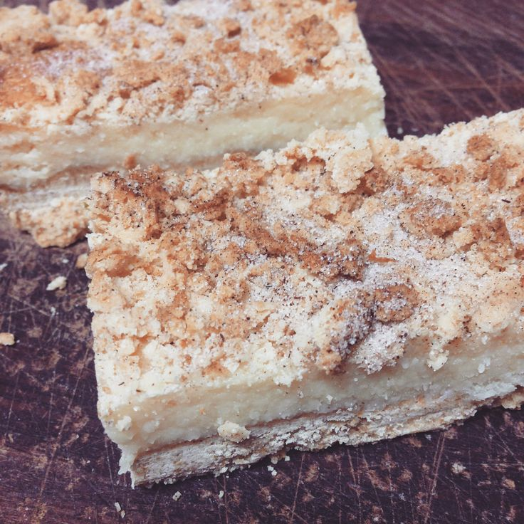 Lemon Honey Slice delicious biscuity base with lemon curd centre and crumbly topping