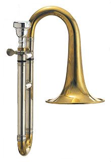 Piccolo Trombone http://www.youtube.com/watch?v=NQhVfYHnyp0