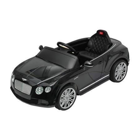 Bentley GTC Kids 6v Electric Ride Toy Car Parent Remote Control Black - 1970-Now