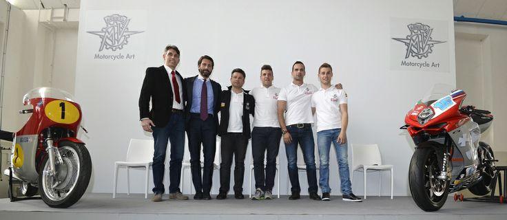 Team MV Agusta #Gillen, #Catiglioni, #Corsetti, #Corti, #Leonov e #Cluzel #MVAgusta