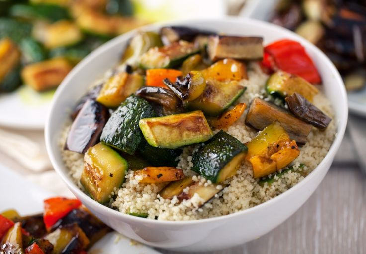 Kuskus s grilovanou zeleninou