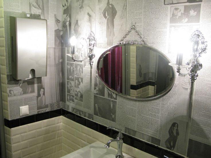 25 best newspaper wallpaper ideas on pinterest for Ideal home wallpaper