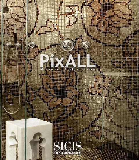 SICIS Pixall Mosaic Collection #SICIS #Mosaic #Art #Interiors