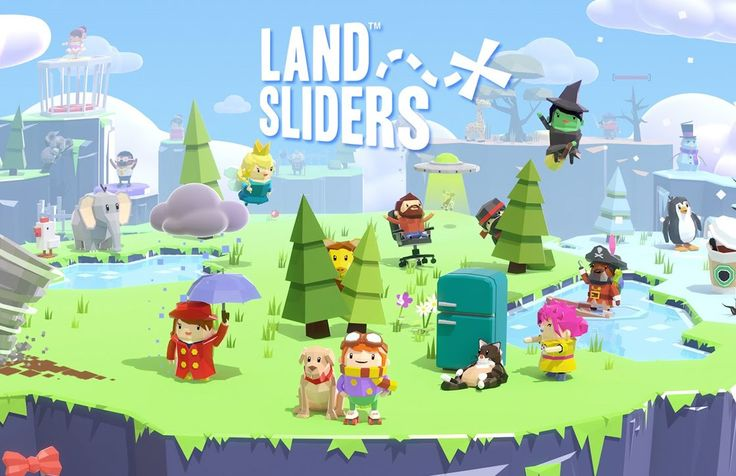 LAND SLIDERS My Highscore 544 - NO 2 of the world!