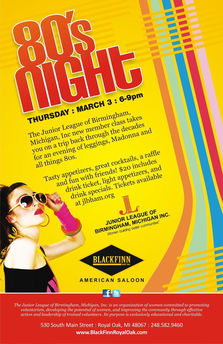 80s poster design - 80s Poster Design 0