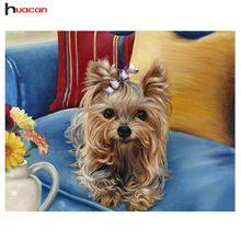 Nieuwkomers Dier Diamant Borduurwerk Schilderij Borduurpakketten Handwerken Geschenken DIY 5D Hond Diamant Mozaïek met Home DecorY659(China (Mainland))