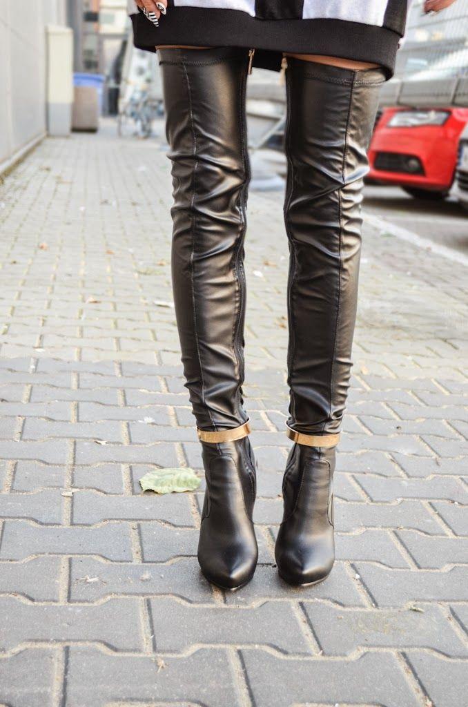 #dlugie #czarne #muszkieterki #fashion #sexy #black #heela #autumn