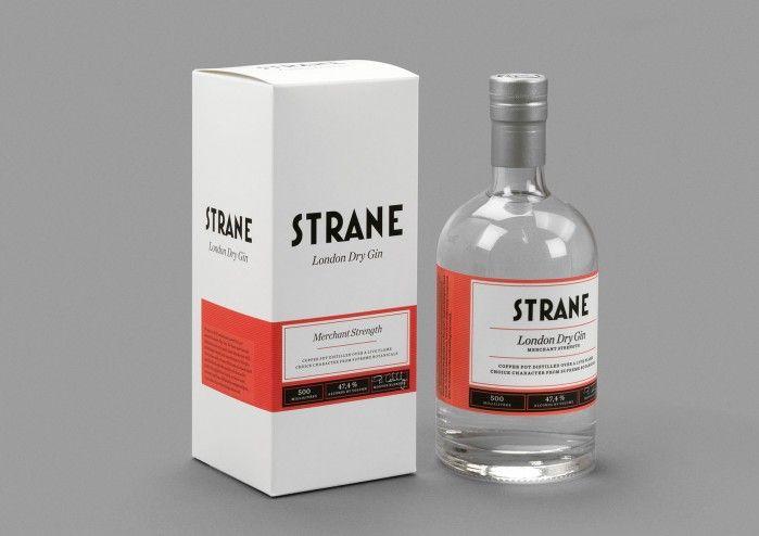Smögen Whisky, Strane Gin Design: Olof Bruce