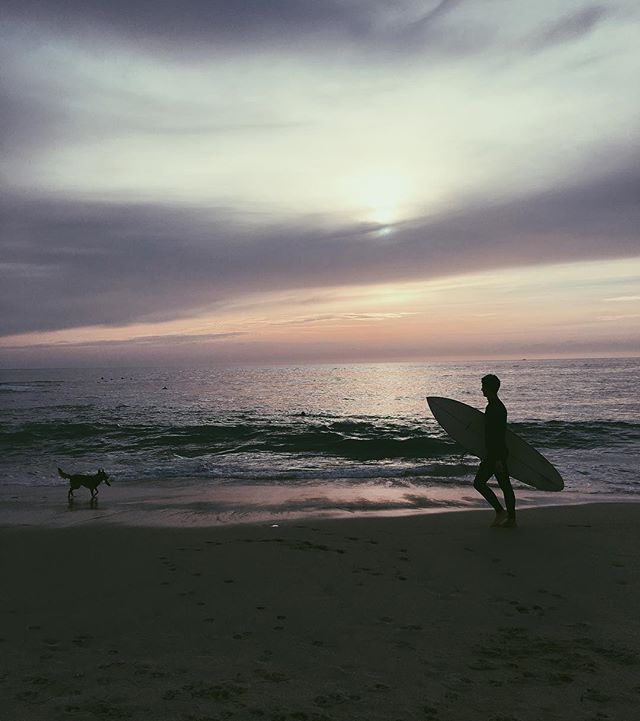 Chasing sunsets, Surf and frisbees🐶 #beach #surf #ocean #rvca #tweegram #photooftheday #follow4follow #igers #waves #follow #surfer #lajolla #sunset #lajollalocals #sandiegoconnection #sdlocals - posted by Johnny Versace Jimenez  https://www.instagram.com/johnnyversace. See more post on La Jolla at http://LaJollaLocals.com