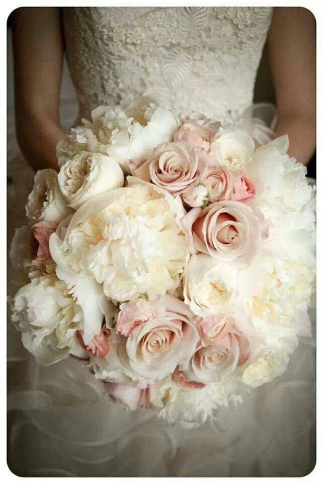 Ramo de novia hermoso
