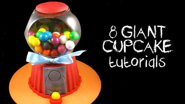 Giant cupcakes are a huge trend that seems to be here to stay. My Cupcake Addiction has 8 yummy giant cupcakes tutorials to share with us.