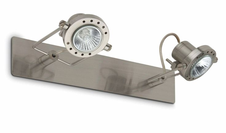 Aplique de Pared doble orientable halógeno #lamparas #iluminacion #decoracion #diseño #apliques #apliquestipofoco
