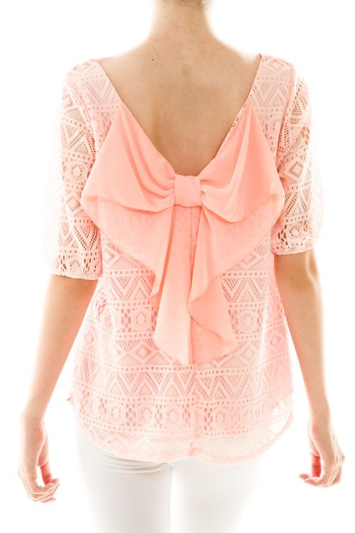 This is so cute especially with a white undershirt to make it modest