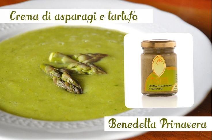 #Crema di #Asparagi e #Tartufo: pronta all''uso, ideale per condire primi piatti, secondi, #crostini. Profumata e dolce, raffinatissima. http://bit.ly/1LdY3HR #verdura #food #bio #gusto #madeintuscany #salute