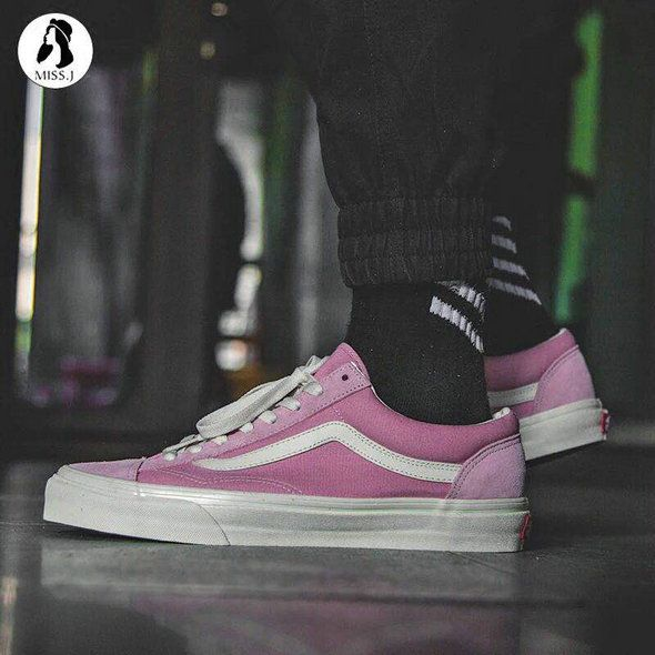 13d5f9e668764a Vans Old Skool Vault OG Style 36 Retro Bright Pink VN0D3DZ3RFY Skate Shoe  amazon Recommend Vans For Sale  Vans