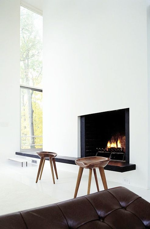 322 Best Images About Fire Place On Pinterest Home Design Architecture And Concrete Fireplace