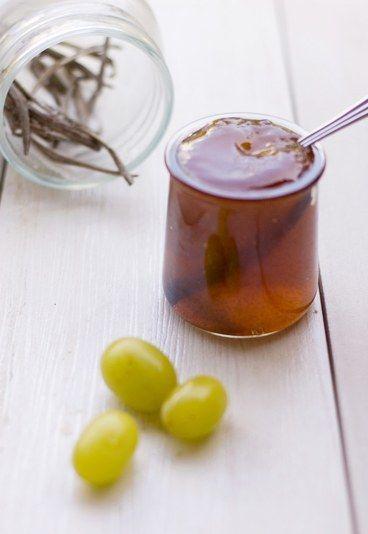 Trauben-Gelee mit Vanille - Rezepte mit Weintrauben: tolle Traube!