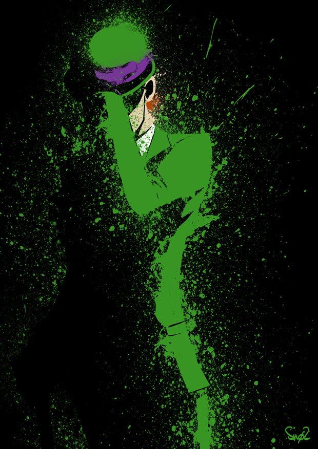 The Riddler by ~Sno2 on deviantART