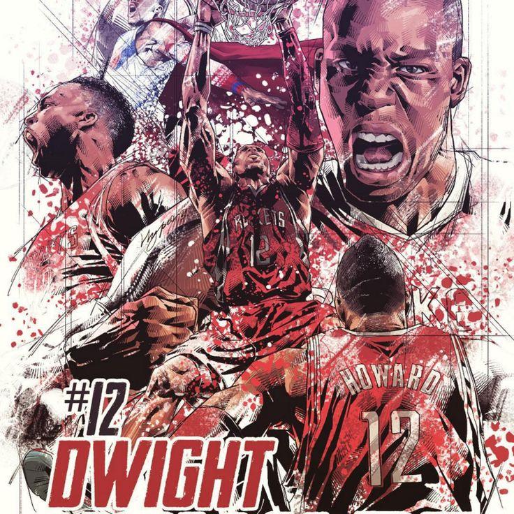 Dwight Howard 'Blast Off' Illustration