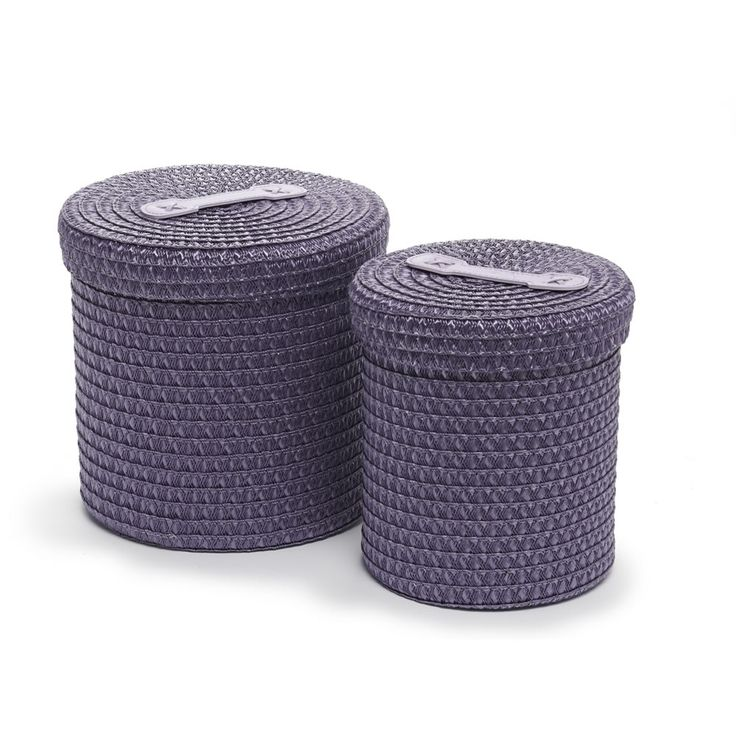 wilko straw storage basket plum x 2 at storage. Black Bedroom Furniture Sets. Home Design Ideas