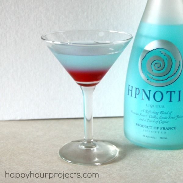 Girls' Night with Hpnotiq & the Tipsy Gnome Martini (scroll down a bit for the recipe)