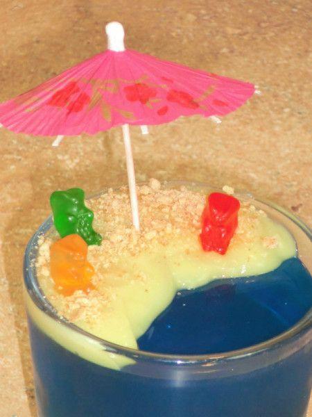Jello Beach Dessert